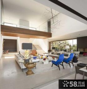复式家装设计客厅效果图大全欣赏