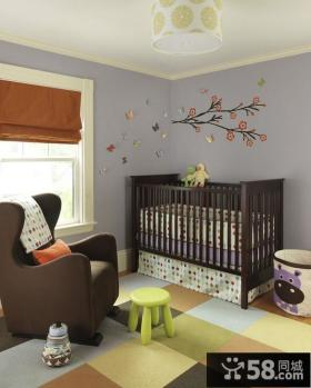 后现代风格儿童房装修效果图大全2012图片
