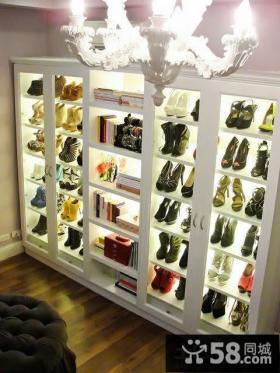 创意家居鞋柜效果图