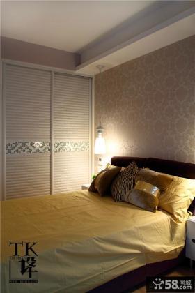 小户型卧室衣柜效果图