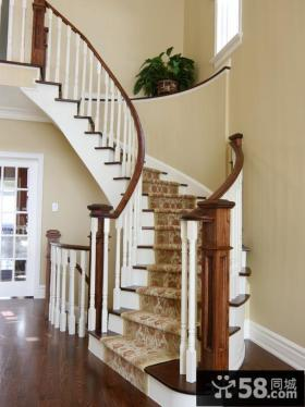别墅装修旋转楼梯设计图