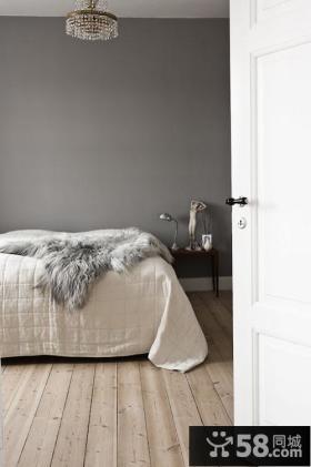 北欧风格简约卧室装修效果图大全2013图片