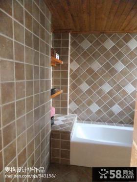 卫浴瓷砖装修效果图片