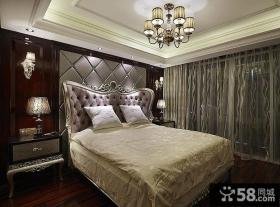 新古典欧式卧室装潢设计