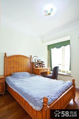 美式田园设计小卧室效果图大全