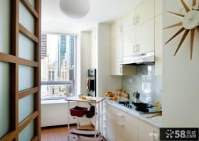 90平米房屋厨房装修效果图欣赏
