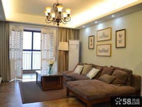 美式风格家居客厅效果图大全