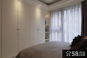 40平米小户型卧室整体衣柜设计效果图