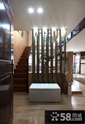 现代复式室内隔断设计效果图