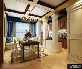日式风格室内设计餐厅图片欣赏