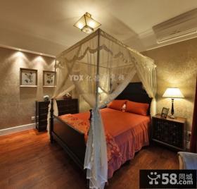 美式风格小户型卧室装修效果图