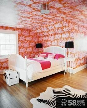 优质卧室壁纸装修效果图欣赏