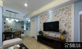室内装修设计客厅电视背景墙
