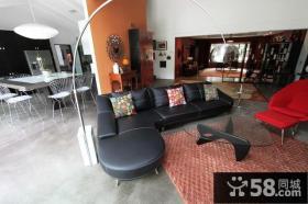 18万打造田园美式风格客厅沙发装修效果图大全2014图片