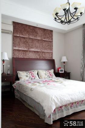 美式乡村风格卧室设计装修图片