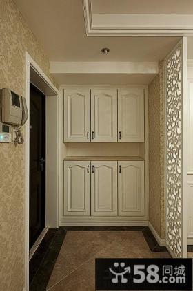 家庭进门玄关鞋柜装修效果图大全图片