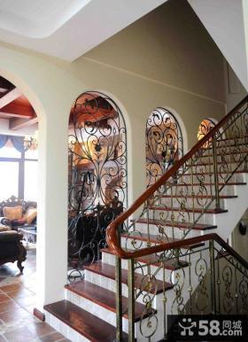 欧式乡村风格楼梯装修