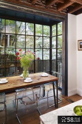 餐厅带阳台装修效果图 阳台装修效果图大全2012图片