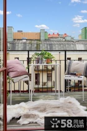北欧设计阳台效果图欣赏大全
