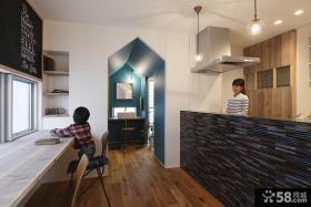 美式风格两室两厅休闲区装修图片