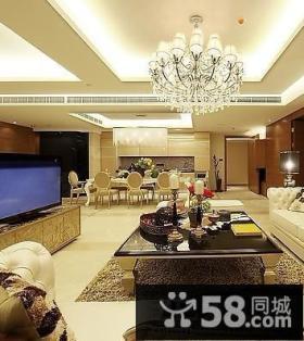 豪华别墅客厅设计效果图片