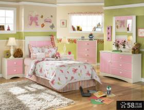 女生儿童房室内装修设计