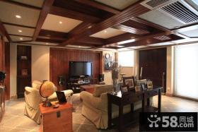 东南亚复式家居装修效果图