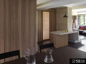 美式风格三居室创意装修图