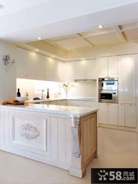 简欧室内厨房设计效果图片