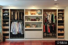 整体衣柜格局设计效果图