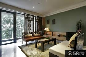 中式风格客厅家具装修效果图