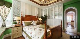 美式家居主人卧室装修图片欣赏