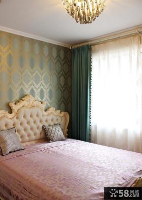 清新复古欧式卧室装饰