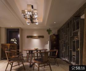 中式风格装修餐厅图片欣赏
