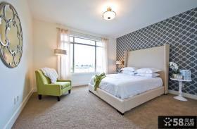 卧室壁纸装饰设计效果图