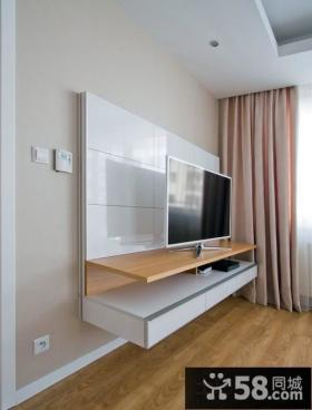 简单电视背景墙效果图片
