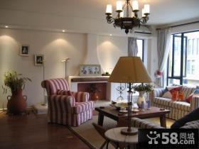 江南家园 小复式客厅装修效果图大全2014图片