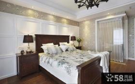美式乡村混搭卧室装修案例