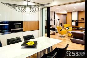 索菲亚宽敞时尚公寓餐厅设计