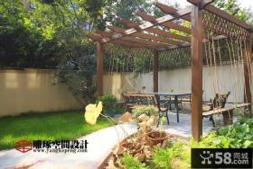 户外花园装修效果图大全2013图片
