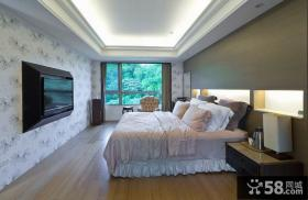 简欧风格别墅卧室设计效果图