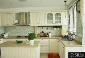 简欧风格开放式厨房设计