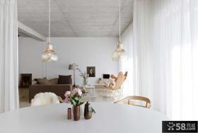 北欧风格小户型室内装修效果图
