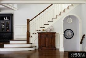 家庭家装设计室内楼梯效果图2015