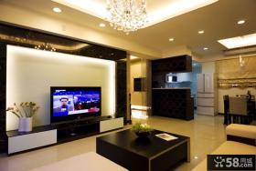 现代风格客厅局部装修案例