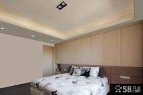 中式简约床头背景墙设计