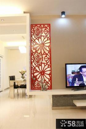 简约电视背景墙装饰效果图大全