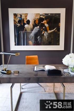 160平复式创意书房装修效果图大全2012图片