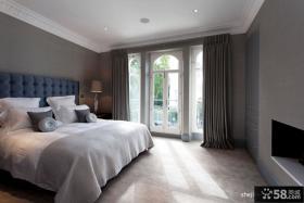 三室两厅家装设计 现代简约卧室装修效果图大全2013图片