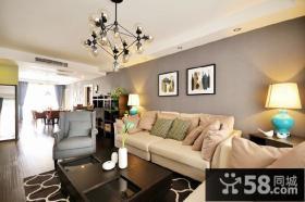 现代风格沙发背景墙效果图欣赏大全
